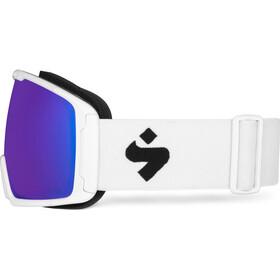 Sweet Protection Clockwork RIG Reflect Gafas Hombre, blanco/azul